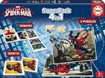 Educa 4 in 1 Superpack (pelipaketti) Spiderman